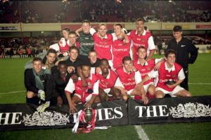 Arsenal youth team celebrate Arsenal-yth-2000