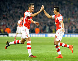 Ozil and Sanchez