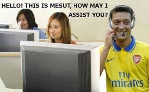 Ozil assist