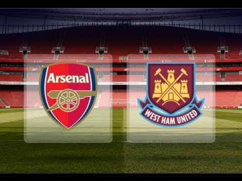 Arsenal at The Emirates take on West Ham in the PL
