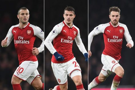 Jack, Xhaka and Ramsey - who is our next captain?