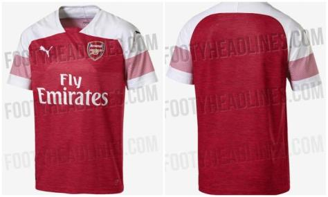 Arsenal's reported new kit from 2018/19