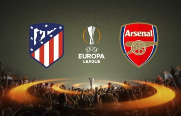 Atletico Madrid Vs Arsenal in the 2nd leg of the Europa League Semi Final.