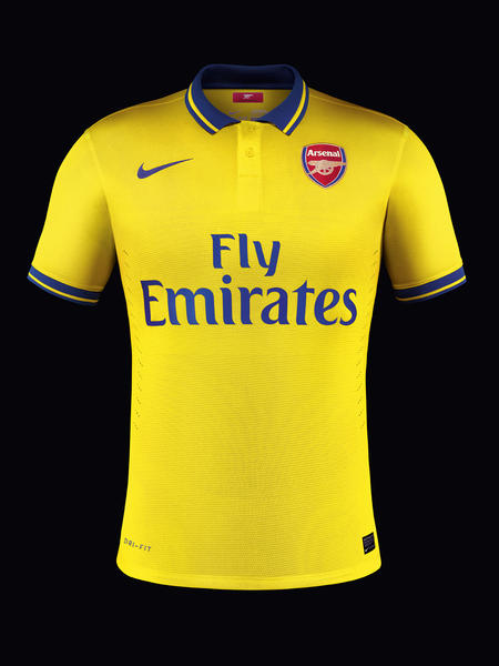 Arsenal's away kit from 2013/14 - a beautiful design faithfully upholding our values