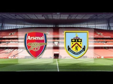 Arsenal take on Burnley at The Emirates