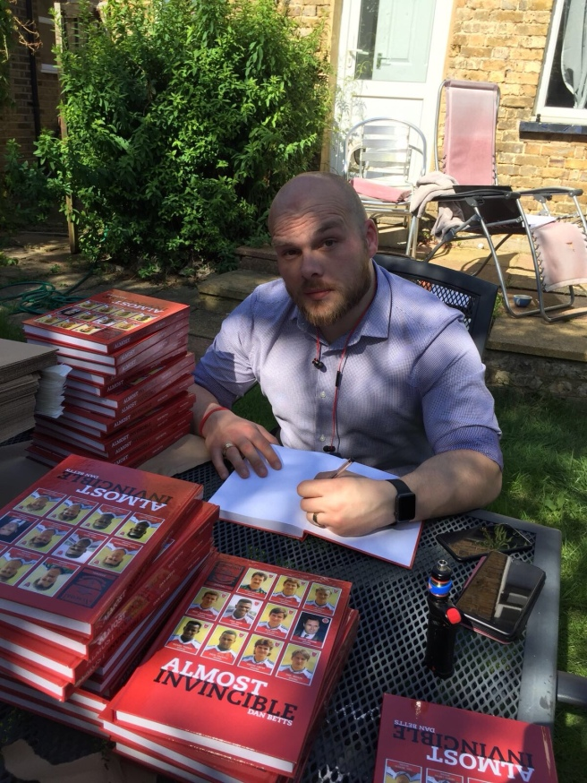 Signing my book!