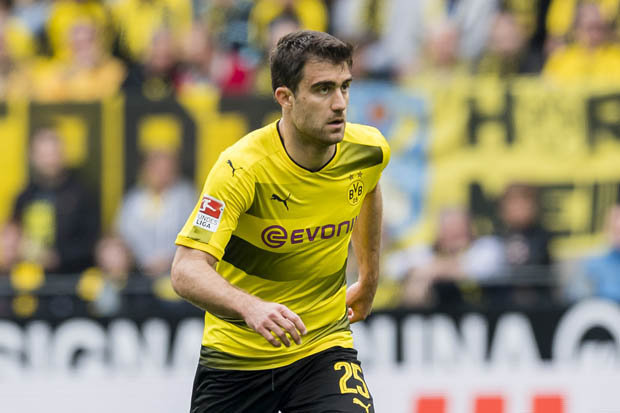 Sokratis at former club BVB