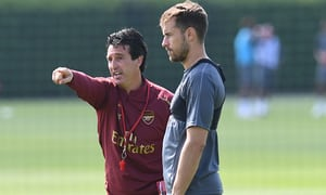 Ramsey and new coach Emery