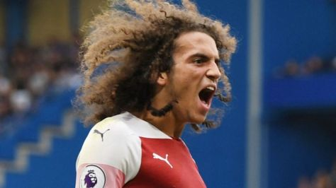Guendouzi crazy hair