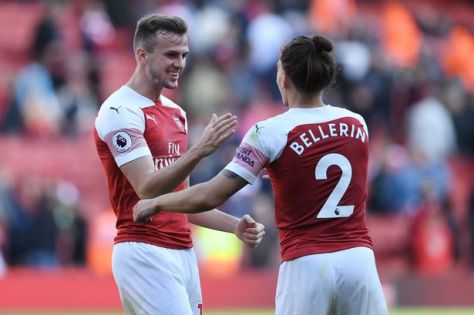 Holding and Bellerin