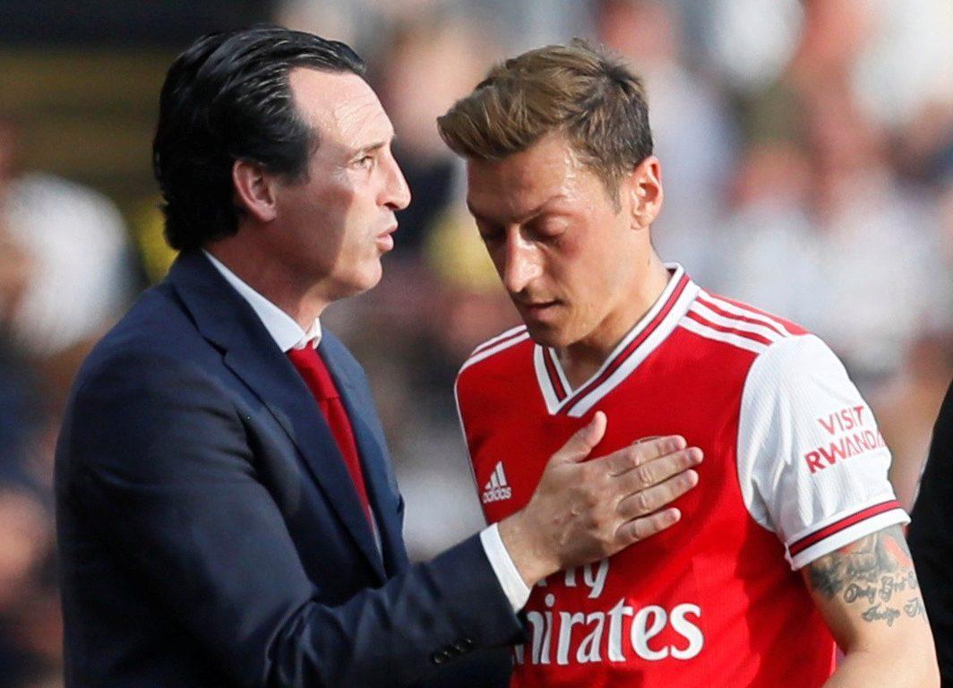 Ozil and Emery