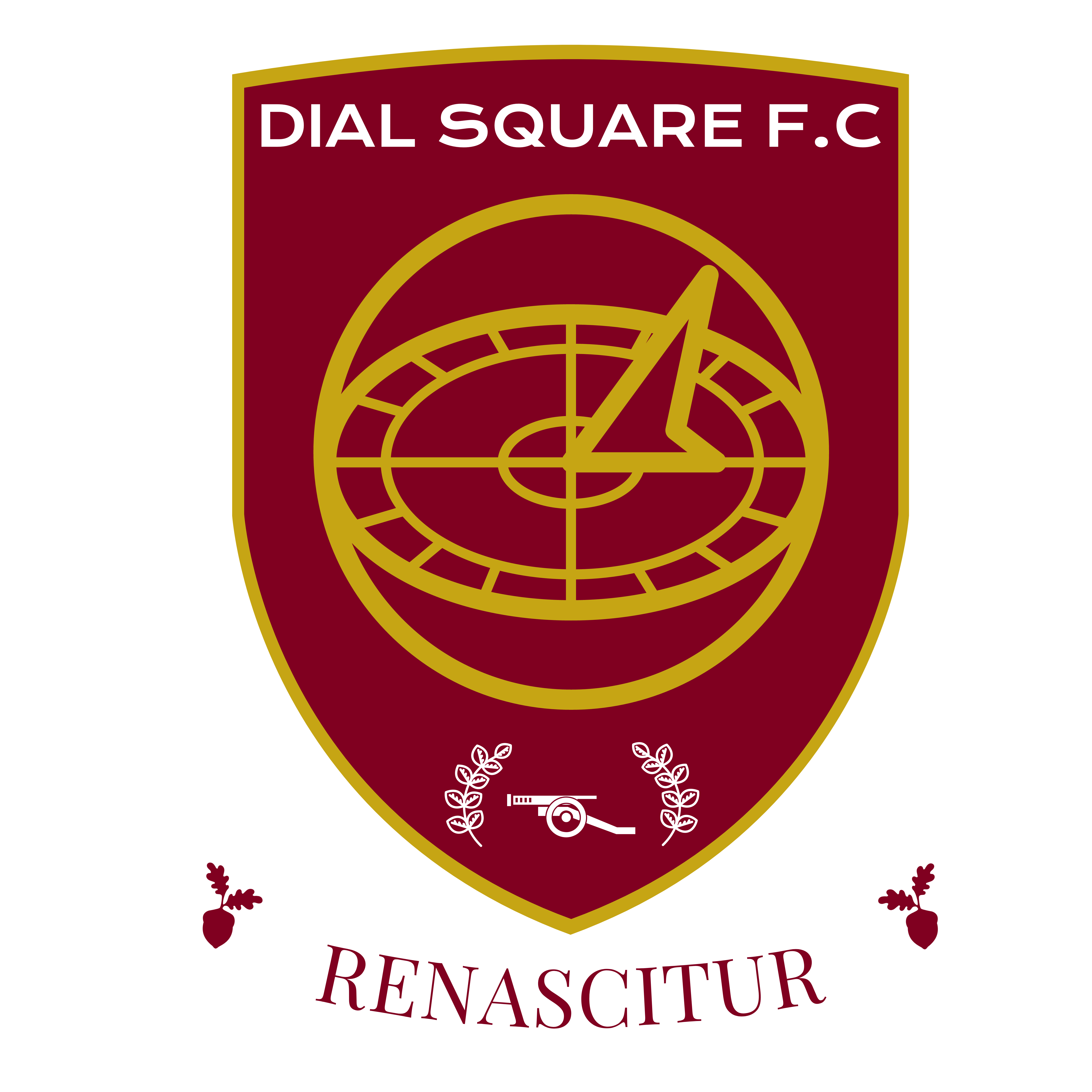 Crest of Dial Square FC